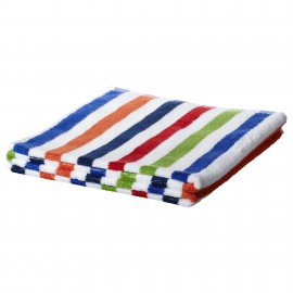 BANDSJÖN Bath Towel BLUE MULTICOLOURED