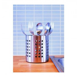 ORDNING Cutlery stand, stainless steel