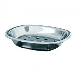 MOGDEN Soap dish, stainless steel
