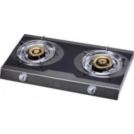 Haier Thermocool 2 Hob Glass Top Gas Cooker 100006859