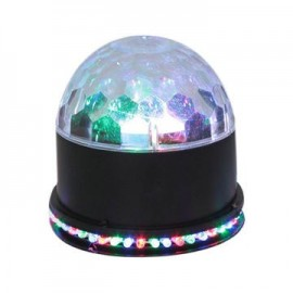 Christmas LED RGB 15W 2 in 1 Rotating Magic Ball Stage Light