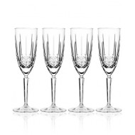 Marquis by Waterford Toasting Flutes, Set of 4 Sparkle Champagne