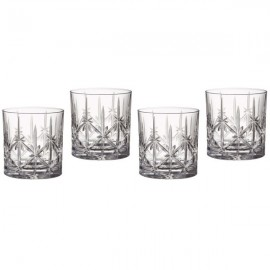 Marquis by Waterford Glassware, Set of 4 Sparkle Double Old-Fashioned Glasses