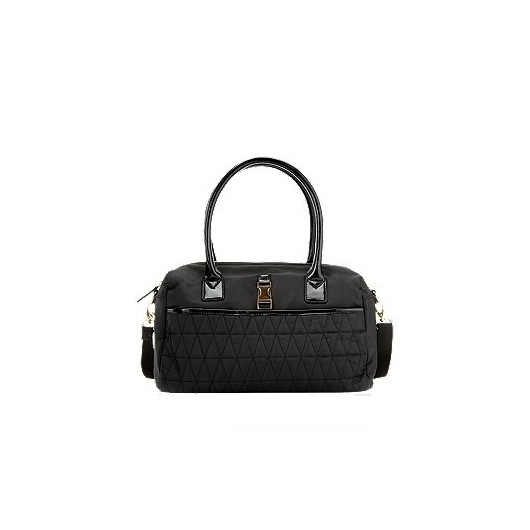 M&S COLLECTION CLIP FABRIC BOWLER BAG