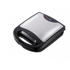 Sonik 4 Slice Sandwich Maker 750W (Silver/Black)