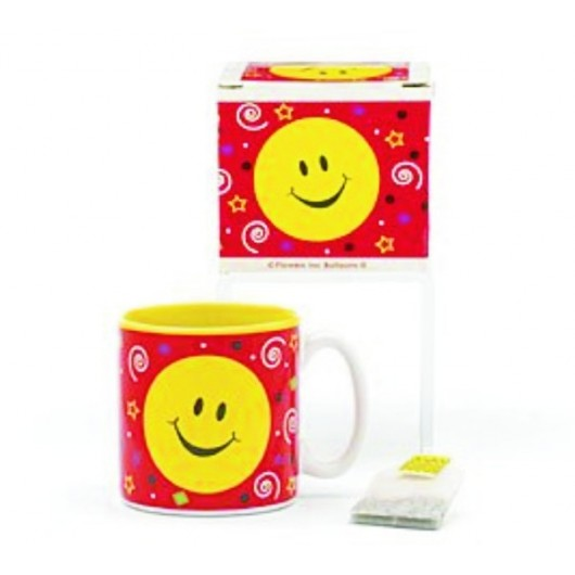 Smiley Face Happy Face Party Mug With Decorative Gift Box Great Inexpensive Gift