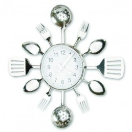 Kitchen Utensil Clock by Meridian Point