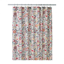 AKERKULLA Shower Curtain  Multicolor