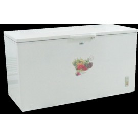 BRHUM CHEST FREEZERS BCF SD430 (WHITE ALU. LINER / EXT CONDENSOR/FAN)