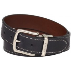 Tommy Hilfiger Men's Contrast Stitching Jean Belt