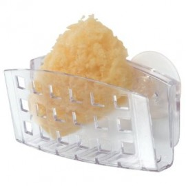 InterDesign Sink Works Sponge Holder, Clear by InterDesign