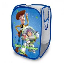 Disney Pixar's Toy Story Pop-up Hamper Foldable Toy Storage Basket Pop Up Mesh Laundry Bag/Bin