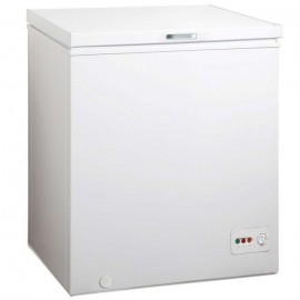 Midea HS-185C Single Door Chest Freezer 141-L - White & Silver