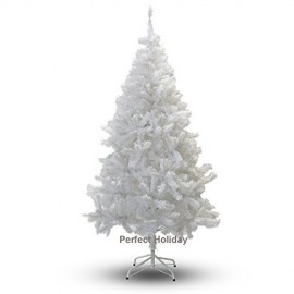 Christmas Finest 7' Feet Super Premium Artificial Christmas Tree With Solid Metal Legs - Fullest Eight Foot Tall Design