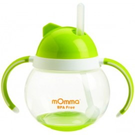 Momma Baby/Toddler Rocking Straw Cup, 8.4 Oz/250 Ml