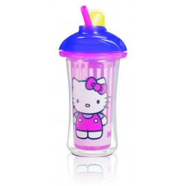 Munchkin Hello Kitty Click Lock Insulated Straw Cup, 9 Ounce by Munchkin