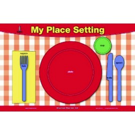 Table Setting & Manners Placemat by Brainymats