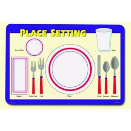 Place Setting Placemat by Painless Learning
