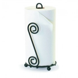 "Spectrum Scroll Paper Towel Holder Size: (13"" H x 6 3/4"" W x 6"" D)"