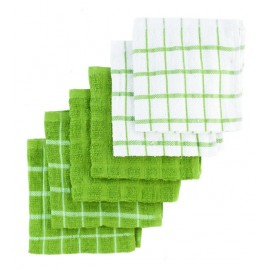 Ritz Terry Cotton Dish Cloths, Cactus, 6-Pack