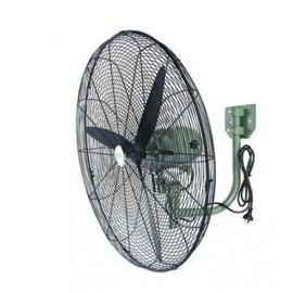 "Sonik Industrial Wall Fan - 26"" (Black)"
