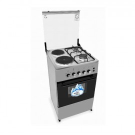 Scanfrost - 2 Burner+2Hot Plate Cooker With Oven & Grill - 5 Series| CK-5222 NG