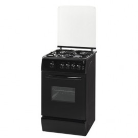 Haier Thermocool TEC Supreme Cooker (50cm x 60cm) with 3 Gas & 1 Electric Burner (Black) TSC 503G1EB