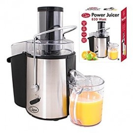 Quest 850 Watt Power Juicer. 2L Pulp container, stainless steel blade, anti slip feet, built