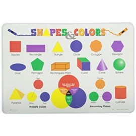 Shapes & Colors Placemat by Painless Learning
