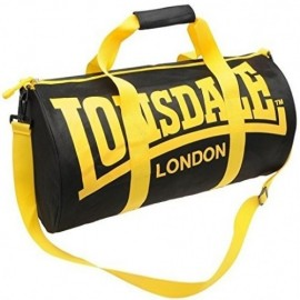 LONSDALE BARREL BAG [YELLOW AND BLACK]