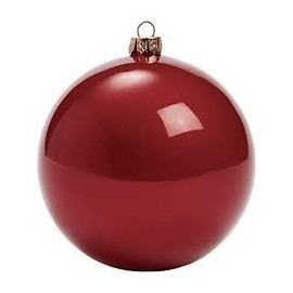 Christmas Ball  set of 12pcs Large Shatterproof Ornaments/Decorations Red