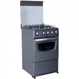 Ignis Gas Cooker ACF040 INOX ; white,black & silver